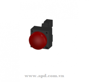 22MM METAL ROUND COMPLETE UNIT COMBINATION:3SB3252-6AA20