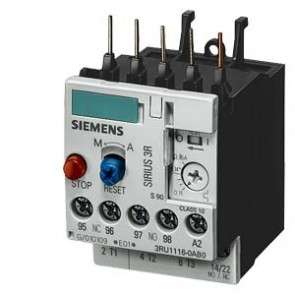 Relay nhiệt Siemens - 3RU1116-0HB0 - OVERLOAD RELAY, 0.55...0.8 A,1NO+1NC, SIZE S00, CLASS 10,FOR CONTACTOR MOUNTING