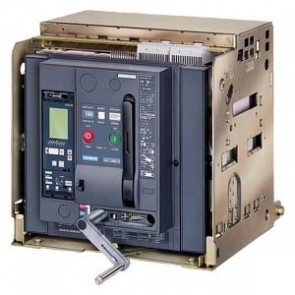 Máy cắt không khí (ACB) Siemens - 3WL1363-4CB45-1AA2 - WITHDRAWABLE CIRCUIT BREAKER, 4-POLE, SIZE III IN  - 6300A TO 690V, AC50/60HZICU  - 100KA AT 500VELECTRONIC TRIP UNIT ETU 25